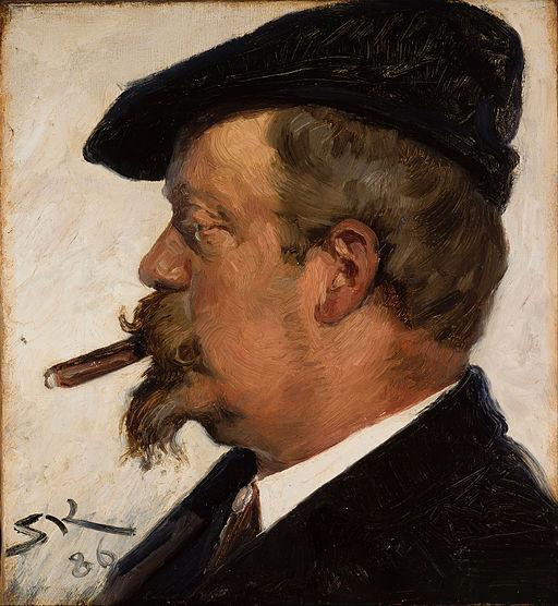 P.S. Krøyer - Vilhelm Rosenstand - Google Art Project