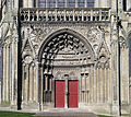 P1240041 Bayeux cathedrale ND portail rwk.jpg