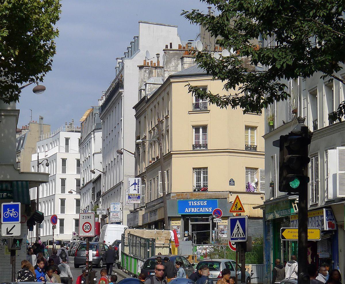 Rue Des Poissonniers  U2014 Wikip U00e9dia