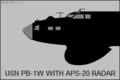 PB-1W radar installation.png