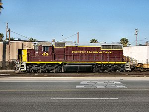 Pacific Harbor Line - Image: PHL SD20 2 45