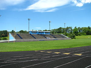 Patrick Henry High School-Glade Spring - PH football field
