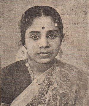 P. Leela - P. Leela in late 1940s