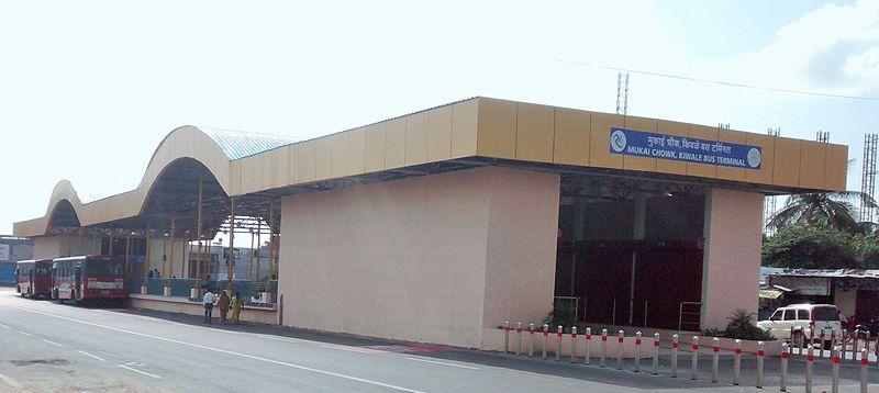 Mukai Chowk, Kiwale Terminal BRTS Station.