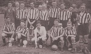 PSV Eindhoven - PSV's first league winning team in 1929