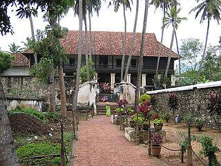 Padmanabhapuram Town in Tamil Nadu, India