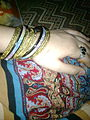 Pakistani cultural bangles and ring makes a complete style and fashion.jpeg
