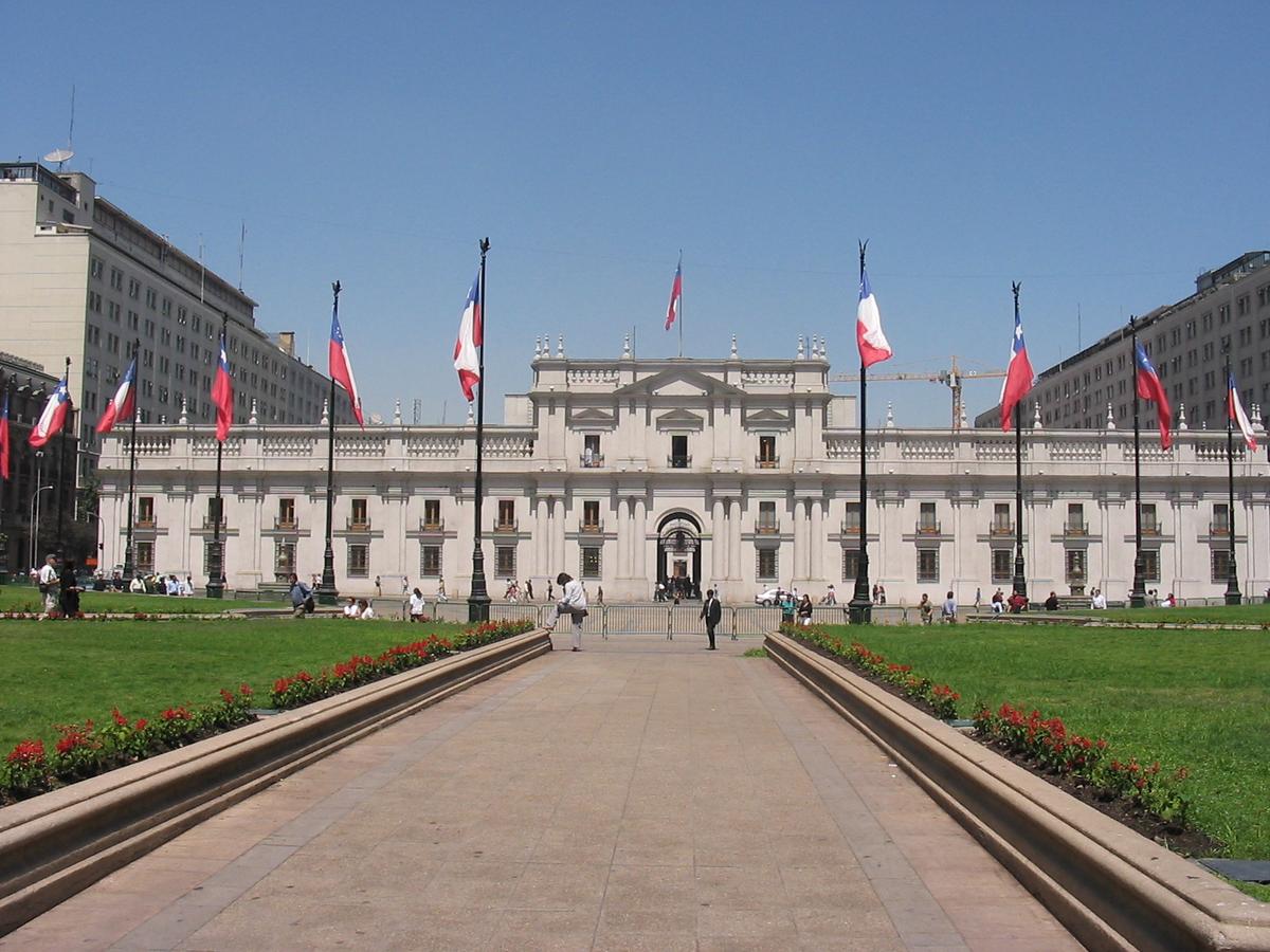Palácio de La Moneda – Wikipédia, a enciclopédia livre
