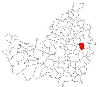 Pălatca Commune in Cluj, Romania