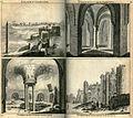 Palatium Cleopatrae, Turrium interior aspectus, Turrium Interior Aspectus, Turrium exterior aspectus - Bruyn Cornelis De - 1714.jpg
