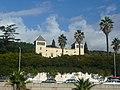 Palau dels marquesos de Sentmenat des de la Ronda de Dalt P1460760.jpg