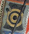 Palazzo comunale di s. miniato, sala delle sette virtù, stemma albizi 1.jpg