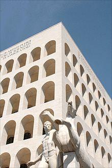 Palazzo della civilt italiana wikipedia for Palazzo della civilta italiana fendi