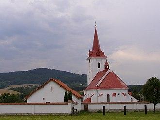 Palkovice - Image: Palkovice, kostel, východ 1