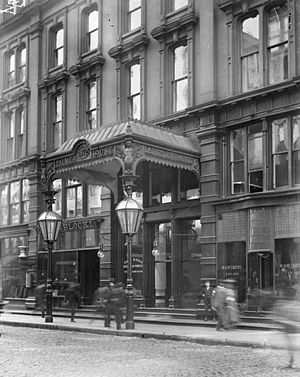 The Palmer House Hilton - Palmer House Hotel Ladies Entrance (19 September 1903)