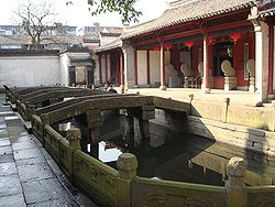 Confucius Temple in Cicheng Town, one of the subdivisions in Jiangbei