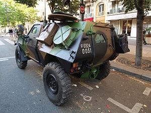 Panhard VBL (Vèhicule Blindé Legér), French army licence registration '6924 0051' pic2.JPG