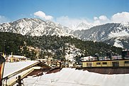 Panoramic view of McLeod Ganj during winters, 2005.jpg