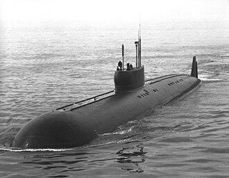 Soviet submarine K-222 - Papa-class submarine