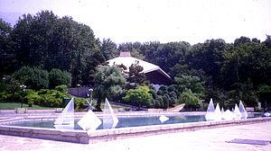Niavaran - The Niavaran Public Library is nestled snugly within the Niavaran city park.