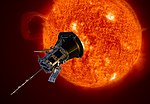 Artist's impression of the Parker Solar Probe