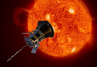 Parker Solar Probe - Artistic rendition of the Parker Solar Probe.