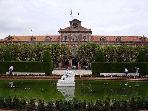 Ledifici del Parlament de Catalunya, situat al Parc de la Ciutadella, a Barcelona.