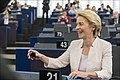 Parliament elects Ursula von der Leyen as first female Commission President (48300816146).jpg
