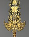 Partisan Carried by the Bodyguard of Louis XIV (1638–1715, reigned from 1643) MET DP-696-005.jpg