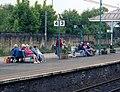 Passengers on Platform Three, Skipton station - geograph.org.uk - 851485.jpg