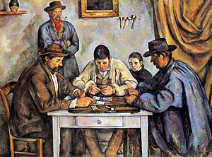 The Card Players - The Card Players, 1890–1892, Barnes Foundation, Philadelphia, Pennsylvania