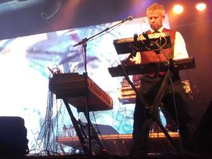 Paul Robb - Paul Robb performing live in 2012