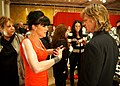 Pauley Perrette and William H. Macy The Heart Truth 2010.jpg