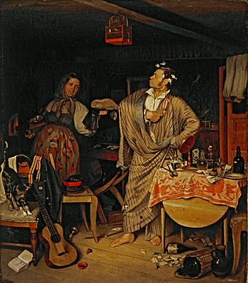 Pavel Fedotov - The fresh cavalier - Google Art Project.jpg