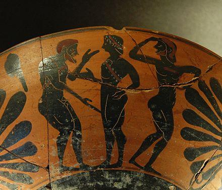 Гомосексуальные сцены в древней греции