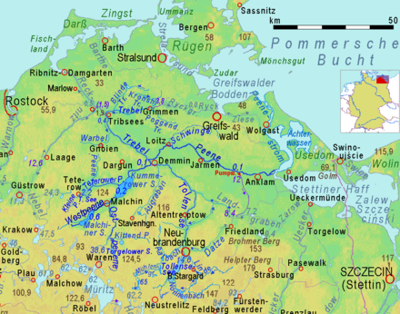 east germany map