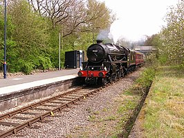 Pen-y-Bont railway station 1.jpg