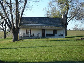 Perryville Battlefield State Historic Site - H.P. Bottom House
