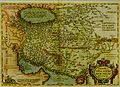 Persici Sive Sopho Rvm Regni Typvs.The Ortelius map of Persia, Antwerp, 1570.jpg