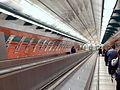 Petřiny, stanice metra - schody.JPG