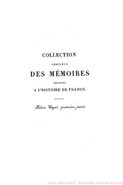 File:Petitot - Collection complète des mémoires relatifs à l'histoire de France, 1re série, tome 41.djvu