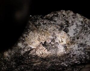 Petzite - Petzite with quartz - Sacarîmb, Nagyág, Romania