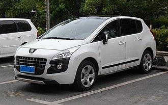 Peugeot 3008 - Image: Peugeot 3008 China 2012 05 12