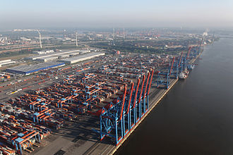 Port of Hamburg - Container Terminal Altenwerder