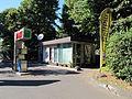 Piazzale donatello, Chiosco dell'impianto di distribuzione carburanti Esso 01.JPG
