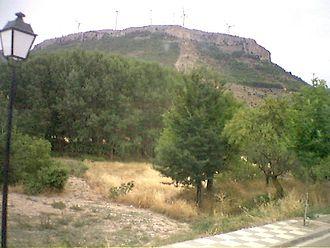 Carcelén - View of La Piedra del Mediodía, a rocky outcrop in Carcelén