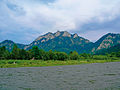 Pieniny – spływ Dunajcem widok na Trzy Korony.jpg