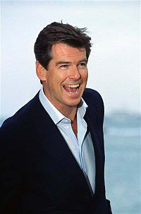 "Pierce Brosnan guest starred in ""Treehouse of Horror XII""."