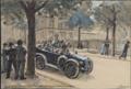 Pierre Blanc, Première voiture allemande, 2 août 1914, 8hrs du matin.png