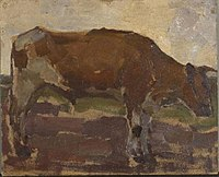 Piet Mondriaan - Brown and white ox steer - 0334214 - Kunstmuseum Den Haag.jpg